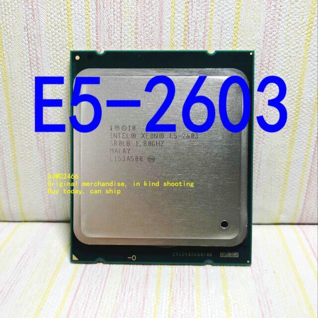 Intel Xeon E5-2603 (SR0LB) 1.8GHz / quad core/ 10M /Socket 2011 server processor