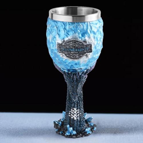 Dragon EGG  Wine Glass Punk Skeleton skull goblet 18cm Halloween Game of Thrones