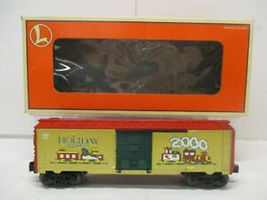 LIONEL 26272 2000 CHRISTMAS BOXCAR