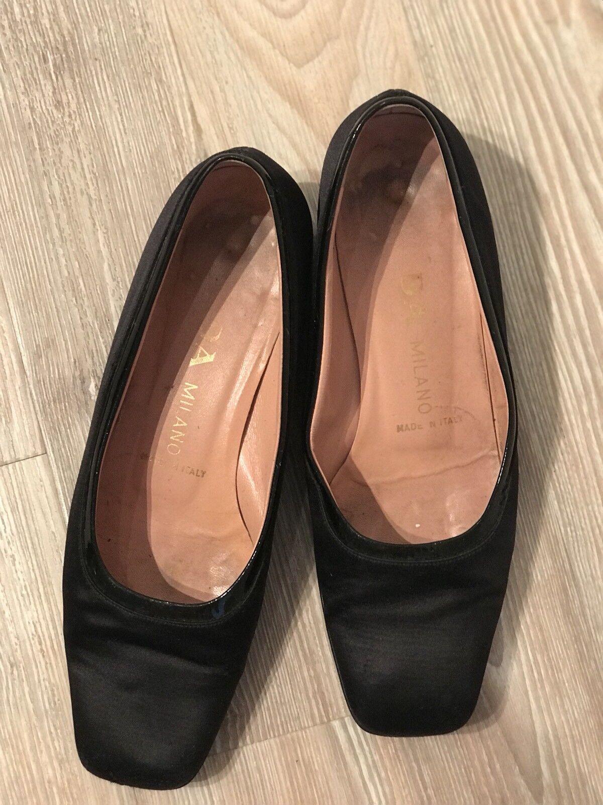 PRADA Schuhe, Schwarz, Schwarz, Schwarz, Größe 38 2a437f