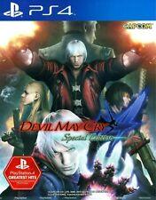 Capcom Ps4 DMC Devil May Cry 4 Special Edition E-capcom Japan