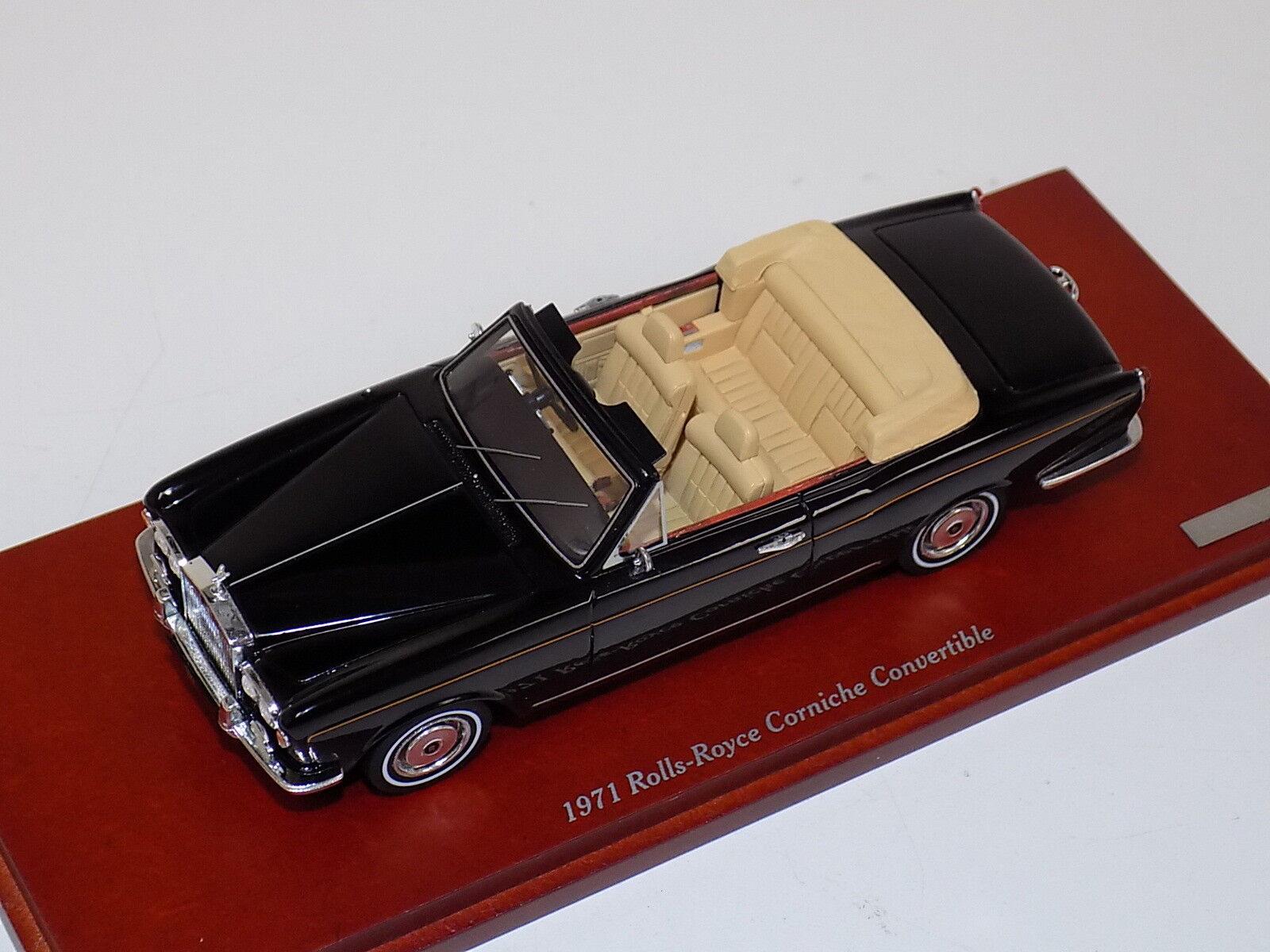 1 43 True Scale TSM 1971 Rolls Royce Corniche Congreenible TSM134345