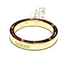 DAMIANI D SIDE BRAD PITT anello in oro giallo 18 kt con 10 diamanti ct 0,09