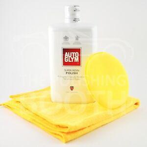 Autoglym-Super-Resine-Vernis-1000ml-avec-Microfibre-et-Application