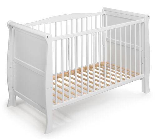 "BabybettKinderbett/""LILLY/""Komplett120x60 cmweissLandhaus Stil"