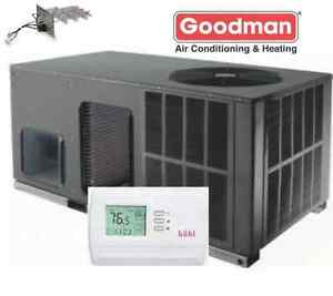 5-TON-13-SEER-R-410A-Goodman-HEAT-PUMP-PACKAGE-UNIT-Mobile-Home