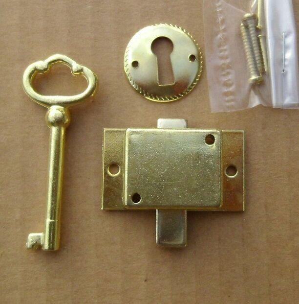 Cabinet Door Lock Set Key Curio Grandfather Clock China Jewlery NEW Replacement & Cabinet Door Lock Set Key Curio Grandfather Clock China Jewlery ...