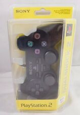 Official DualShock 2 Controller NEW Sealed Black Sony PS2 PlayStation Dual Shock