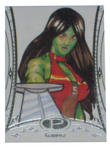 2014-Marvel-Premier-Gamora-Artist-Sketch-Card-Dejon-Parnell-Upper-Deck-Base-1-1