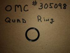 OMC EVINRUDE JOHNSON 331364 0331364 QUAD RING PLUNGER SEAL O-RING XREF 326346