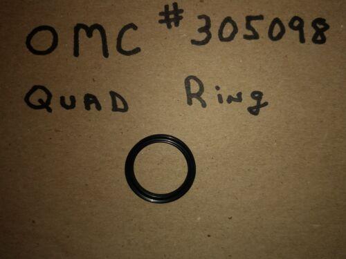 Omc #305098  Rubber Quad Ring