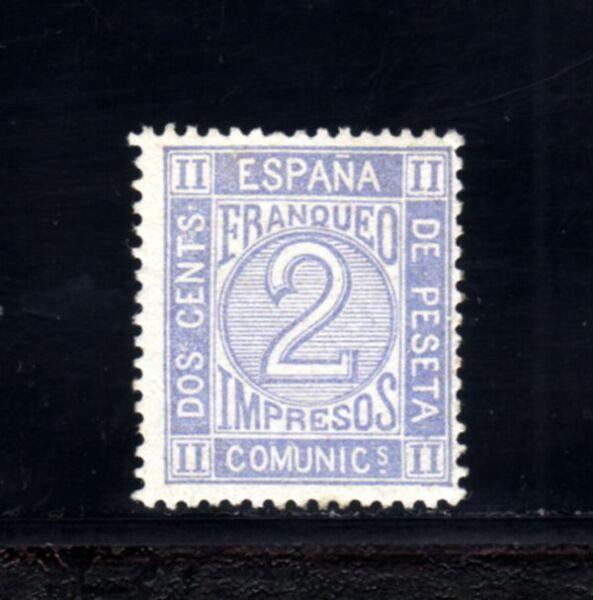 1222-espaÑa-spain-1872. Cifras Edifil Nº 116. 2 Cents.unused Nuevo Mnh** Facile à Utiliser