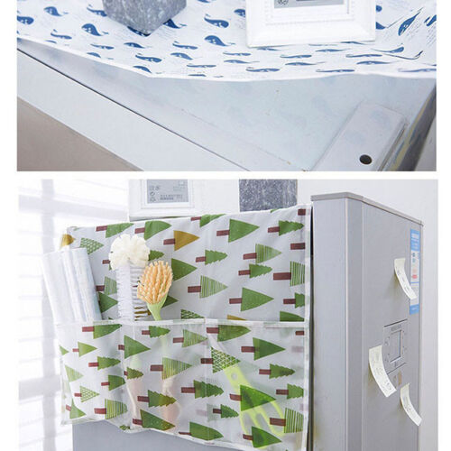 Household Refrigerator Dust Cover Bag Freezer Top Storage Bag  YW