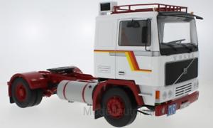 Volvo-f12-f1220-camion-Truck-blanco-rojo-1-18-Road-Kings-180031-New