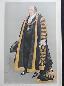 Original-039-The-World-039-Print-of-Sir-Thomas-Vezey-Strong-London-Lord-Mayor-c1910