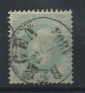 Norvege-N-3-Obl-FU-1856-Oscar-1er