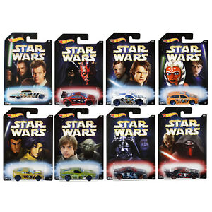 Hot-Wheels-Star-Wars-Master-amp-APPRENTI-1-64-ECHELLE-vehicules-Choisissez-votre