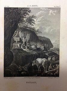 PAISAJE-Fontana-e-Vacas-Galerie-du-musee-Napoleon-Joseph-Lavallee-1804-1815