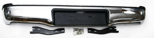 NEW Toyota Hilux Vigo Mk6//Mk7 Rear Stainless Steel Bumper With Brackets 05-15