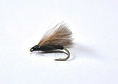 CDC F FLY BROWN Dry Trout Fishing Flies various options by Dragonflies