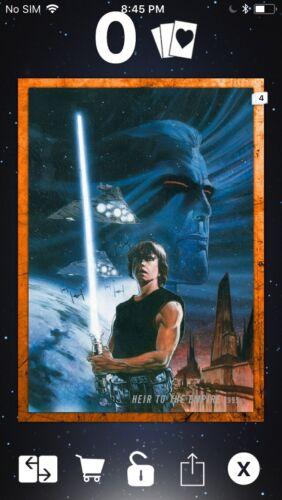 Comics Heir Insert Topps Star Wars Digital Card Trader Orange Evolution