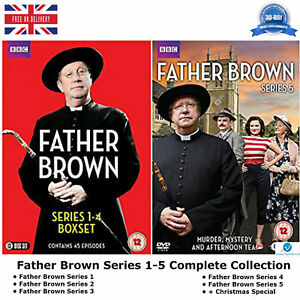 Details about Father Brown Series 1-5 BBC drama Complete Collection 1 2 3 4  5 All episodes DVD