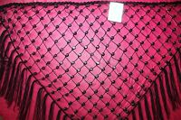 Debs Lot Of 2 Beaded Belts/shawls Boho 1 Black & 1 White Great 4 Swimsuits
