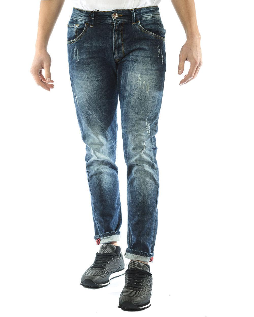 Jeans I&  039;M C Couture Cotone MADE IN ITALY hombres Denim 3931  en venta en línea