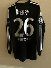 England Chelsea Terry Uefa CL Player Issue Shirt 7,8,9,10  Match Unworn Jersey