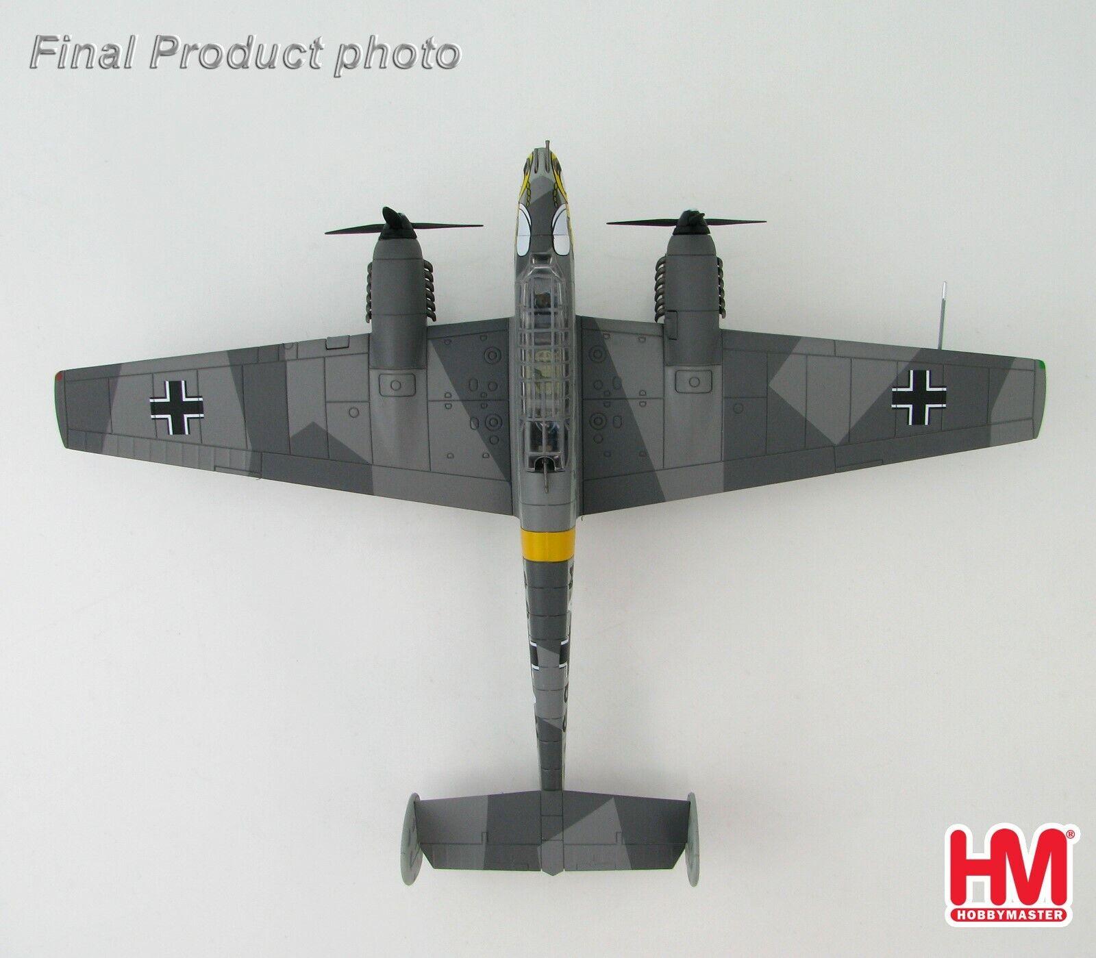 HA1811 1 72 BF 110E Luftwaffe S9+AM, 4. Staffel,  ZG 1 Winter von Hobby Master