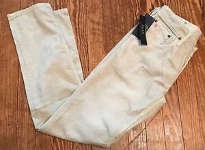 Men's Polo Ralph Lauren Varick Slim Straight Corduroy Pants 30 X 32 Stone Grey