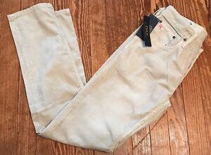 Men's Polo Ralph Lauren Varick Slim Straight Corduroy Pants 30 X 32 Stone Grey