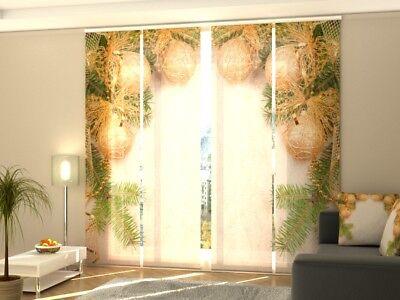 """Home & Garden Fotogardine """"weihnachten"""" Schiebevorhang Schiebegardine Vorhang Gardine Auf Maß Excellent Quality Curtains, Drapes & Valances"""