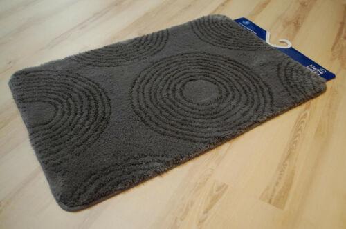 Badteppich Kleine Wolke Cosima 901 Anthrazit 70x120 cm