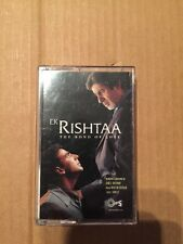 Ek Rishtaa - Tips  Rare Bollywood Hindi  Soundtrack Cassette