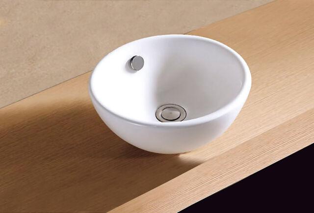 Rundes Waschbecken Waschtisch Handwaschbecken Badarmatur Badmöbel Becken