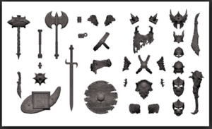 Boss Fight Studios WOLFPACK GREY Character Builder Kit HACKS