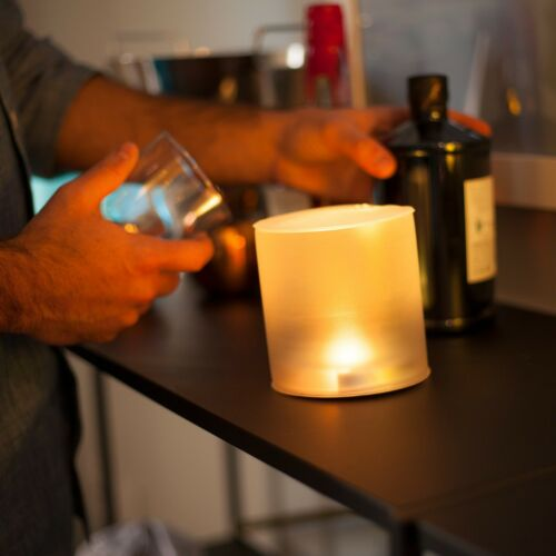 LUCI Candle Waterproof /& Flat Pack Inflatable Flameless Solar Candle