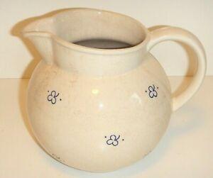 DDR VEB Steingutfabrik Dresden Milchkrug Milchkanne Chabby Chic Keramik 50er