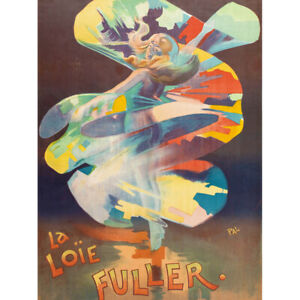 Pal-Dancer-Loie-Fuller-Folies-Bergere-Vintage-Advert-Canvas-Art-Print-Poster