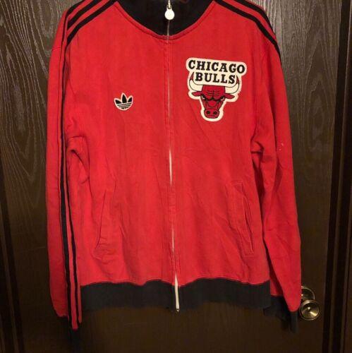 Vintage Adidas Chicago Bulls Warm Up Jacket Medium