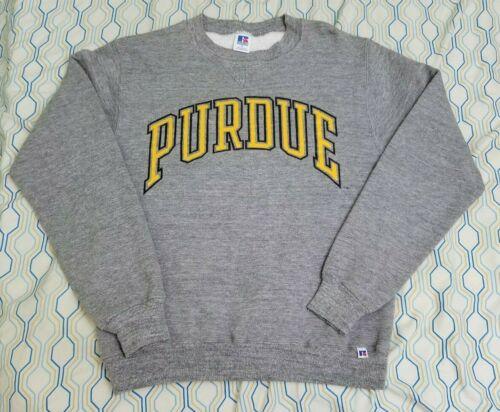 VTG 80s Russell Athletic Purdue University Crewne… - image 1