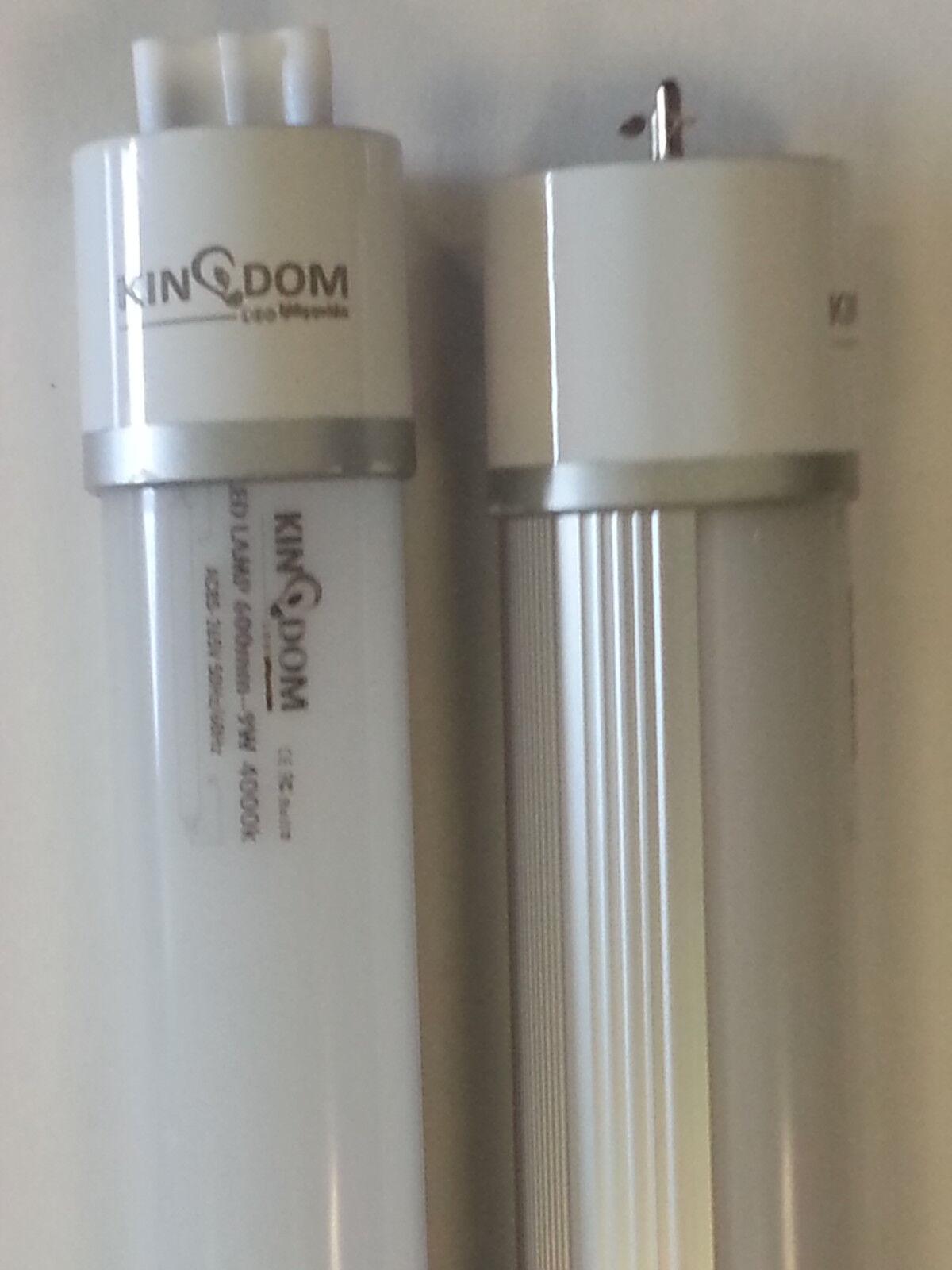 25x LED T8 Light Tube 2ft 4ft  Fluorescent Light Tube Replacement new uk seller