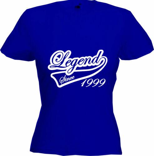 Premium Quality 2020 LEGEND SINCE 1999-21th Birthday T-Shirt Gift