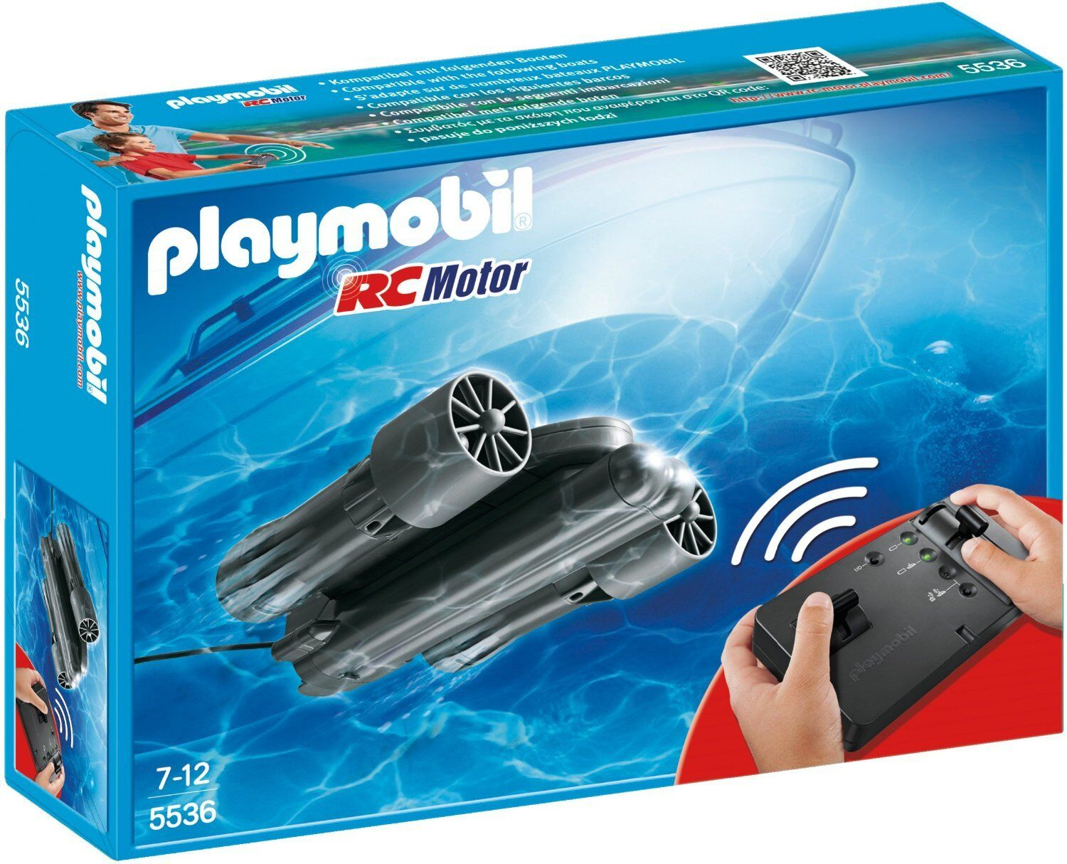 Playmobil 5536 Summer Fun RC Underwater Motor BRAND NEW FREE P&P
