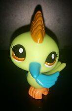 Littlest Pet Shop LPS #2279 RARE Green Blue WOODPECKER BIRD