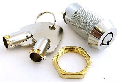 Philmore 30-10078 4A@125VAC SPST Key Switch w//Two Keys ON-OFF 2A@250VAC