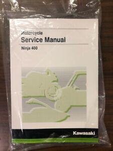 Details about Kawasaki Ninja® 400 Service Manual - Fits 2018 & 2019 -  Genuine Kawasaki - New