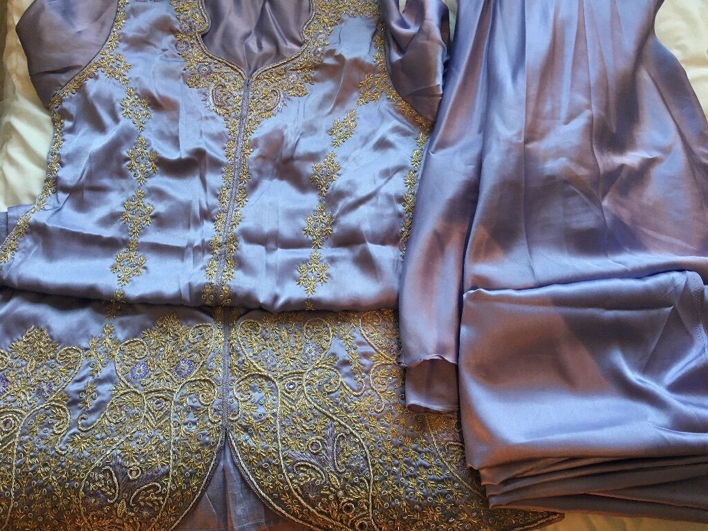 Brand New Lilac Asian Lengha Outfit