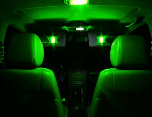 17 x Green Interior LED Lights Package For 2009-2017 Chevy Chevrolet Traverse